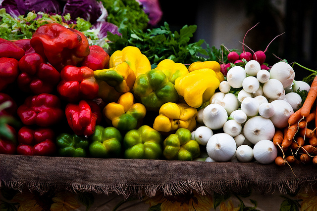 Fresh vegetables by Lars P @ Flickr